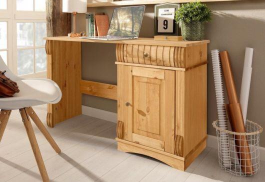 escrivaninha de madeira design diferente