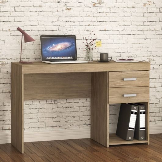 Atualmente as lojas possuem inúmeras escrivaninhas de madeira com gavetas