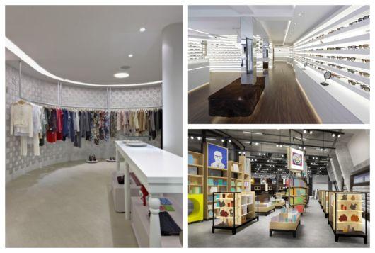 Utilize elementos criativos de decoração para deixar sua loja moderna