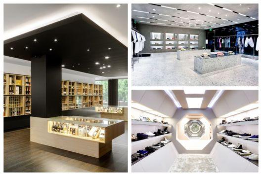 Três sugestões de decoração moderna para lojas