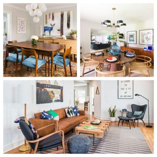 Ambientes harmônicos e coerentes deixam sua sala retrô perfeita e equilibrada!