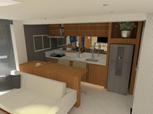 Uma tendência interessante para apartamentos e espaços compactos