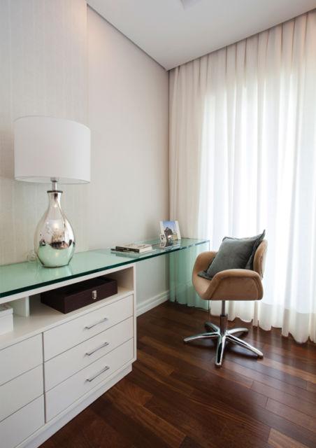 Cadeira em estilo moderno, de fato uma ótima opção para padrões contemporâneos