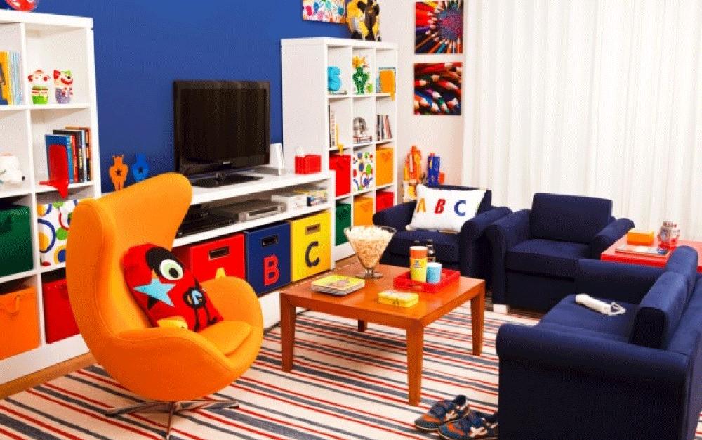 Móveis coloridos ajudam a deixar o quarto infantil mais vibrante e descolado