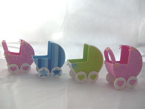 ideias para carrinho de bebê em EVA