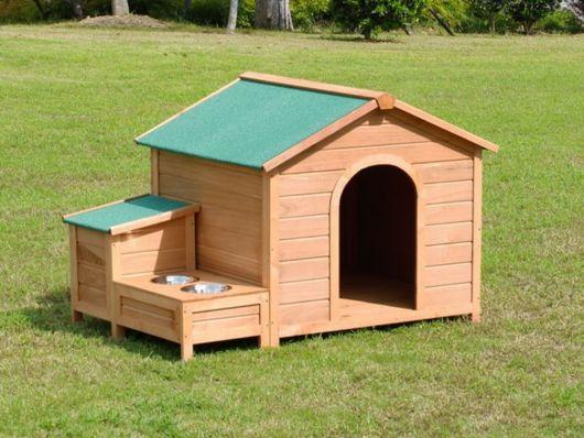 Essa casinha é ideal para cães de vários portes