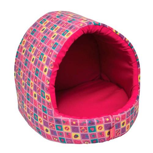 Esse modelo combina casinha com cama para descanso