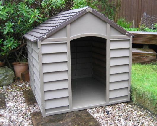 Essa casinha é perfeita para áreas externas