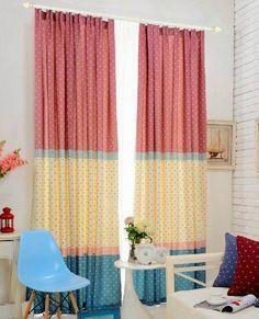 Como fazer cortina: Com 3 cores para quarto