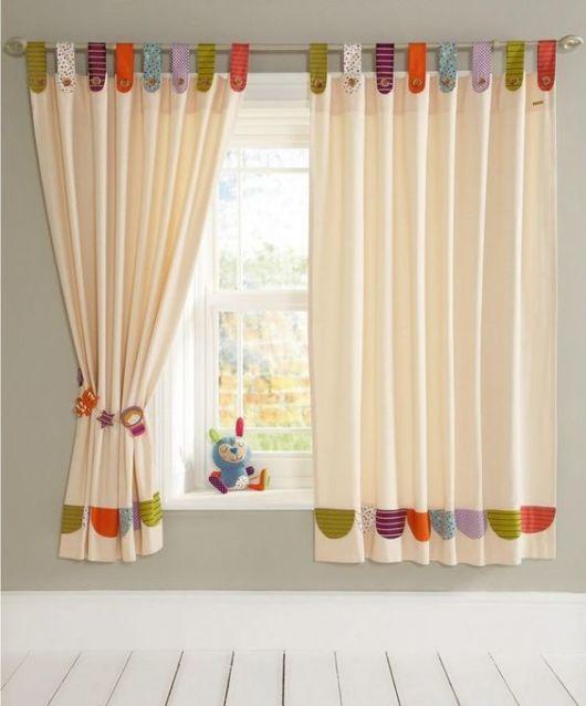 Como fazer cortina: Infantil para quarto