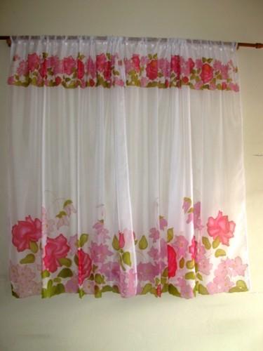 Como fazer cortina: Florida para sala