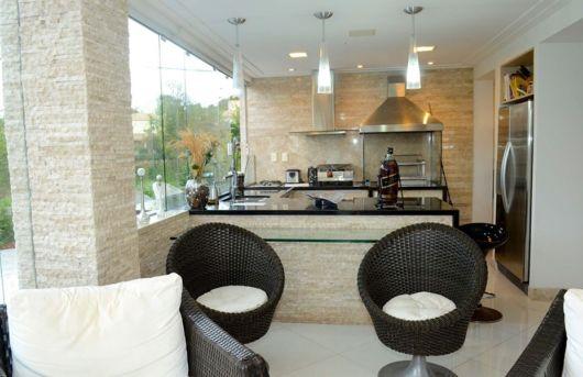 espaço gourmet casa