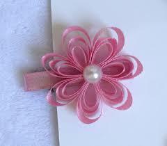 Flor de cetim: Fina rosa