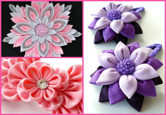 Flor de cetim: Modelos para se inspirar