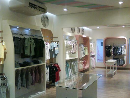 As lojas infantis estão cada vez mais modernizadas