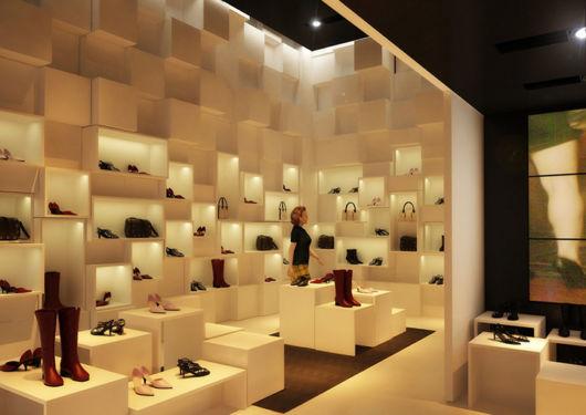 Sugestão de decoração para lojas de calçados