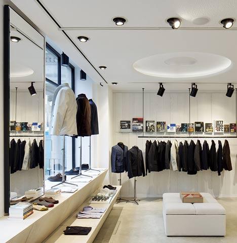 Veja só que ideia legal de loja de vestuário moderna