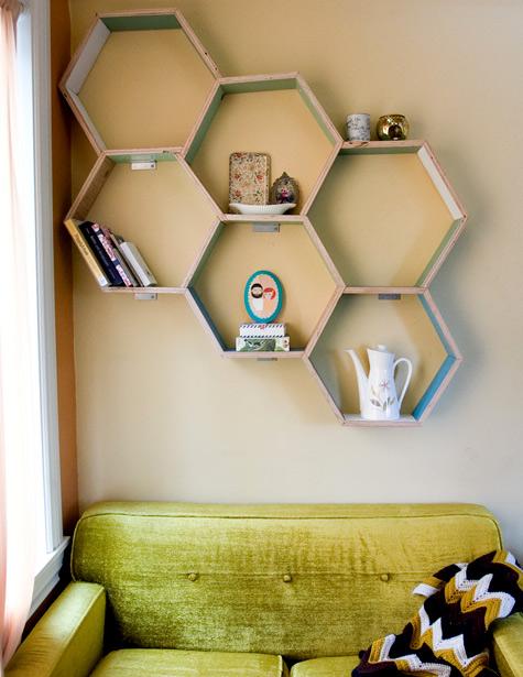 Deixe a sala mais moderna com nichos assim