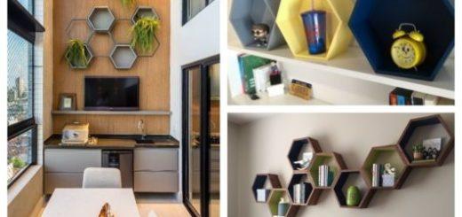 Conheça aqui diversas dicas de decoração com nicho colmeia