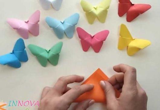 Origami fácil: Borboleta
