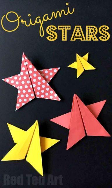 Origami fácil: Estrela