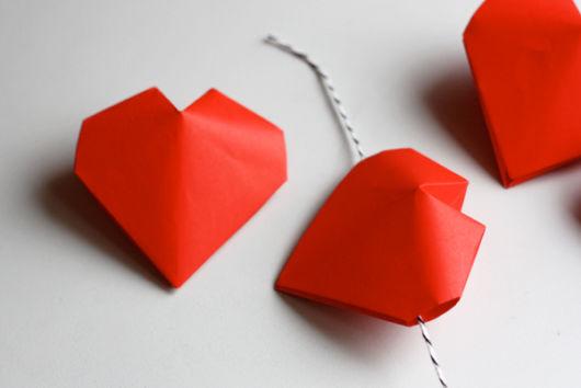 Origami fácil: Coração