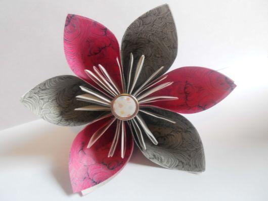 Origami fácil: Flor