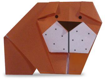 Origami fácil: Cachorro