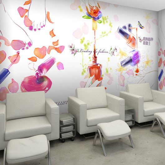Papel de parede perfeito para salões modernos