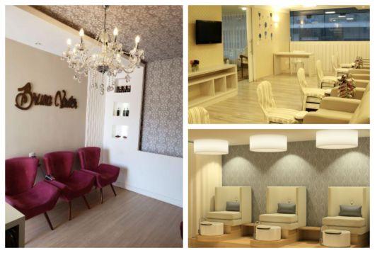 Dicas criativas de decoração com papel de parede salão de beleza