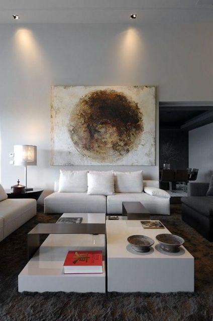 quadro sala moderna