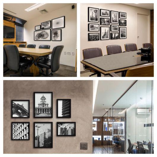 Modelos clássicos e em cores sóbrias combinam com escritórios de várias áreas