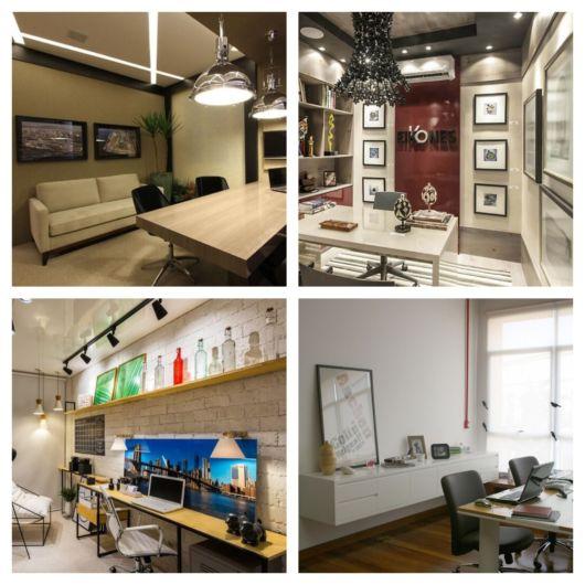 É bem melhor deixar um ou vários quadros em seu escritório do que manter o ambiente sem nenhum adorno decorativo