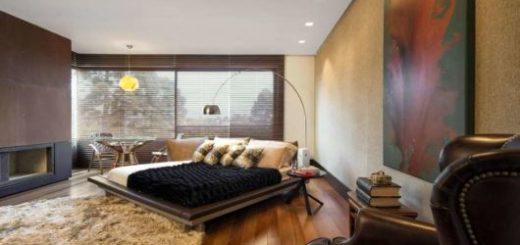 Que tal essa disposição de móveis e a decoração impecável?