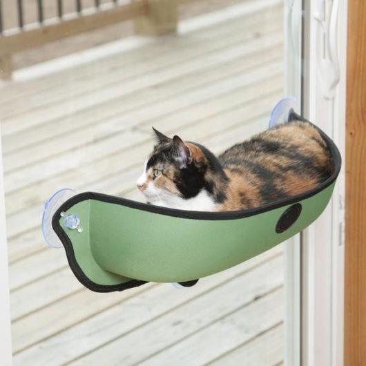 redes para gato na porta de vidro