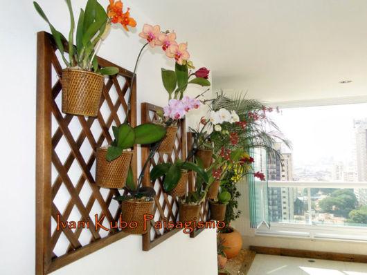 decoração com orquídeas