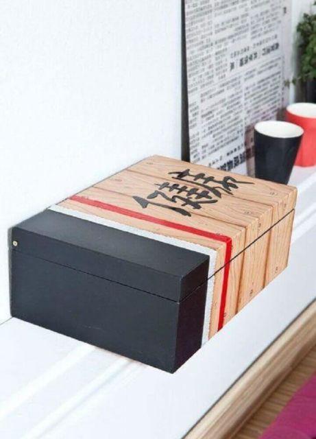 Dica para pintar caixa de madeira