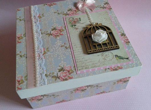 As caixas em MDF decorativas são excelentes para presentear