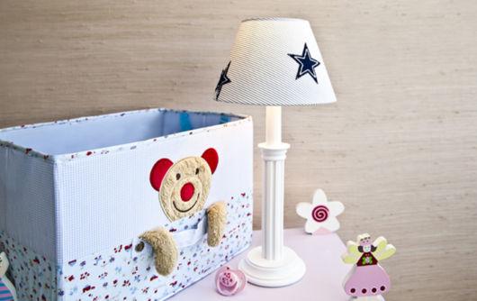 Uma caixa decorada perfeita para o quarto de bebê
