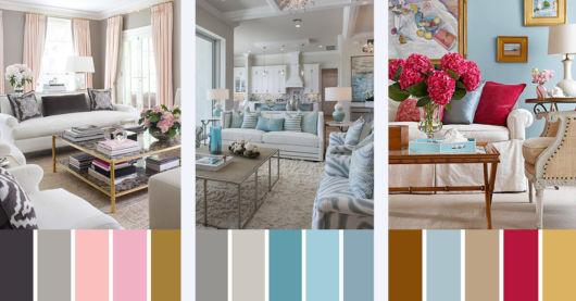 Sugestões de cores para salas