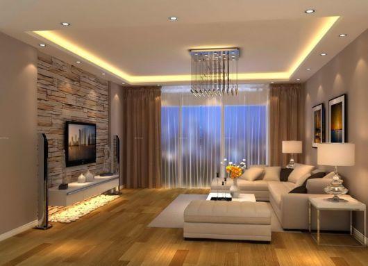 Dica de cor para sala moderna de TV