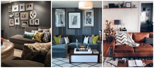 Existem muitas cores que favorecem salas pequenas