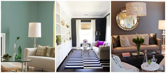 As cores podem fazer toda a diferença na decoração da sala