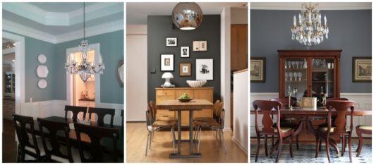 Salas decoradas com cores fortes