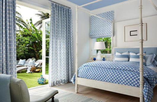 Quer um quarto com decoração delicada? Veja então dica de cortina