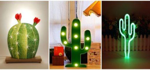 Conheça luminárias lindas em forma de cacto para agregar à decoração
