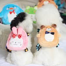 mochila para cachorro de pelúcia