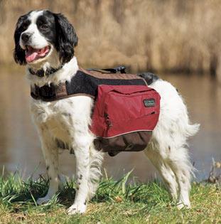 mochila para cachorro de nylon