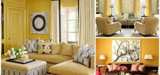 Use o bom senso para não errar na decoração das salas amarelas