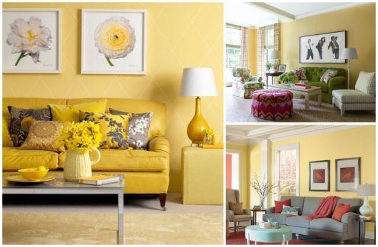 Descubra o poder do amarelo em sua sala!